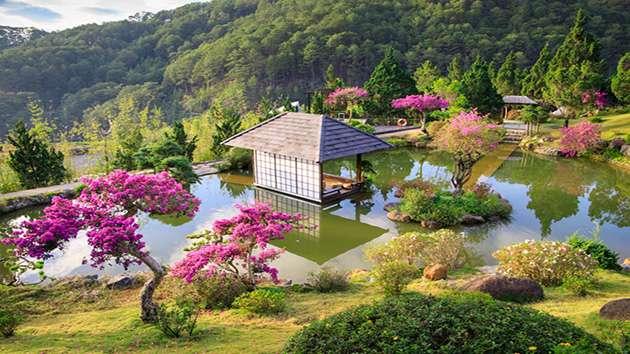 QUE garden mang đậm phong cách Nhật Bản
