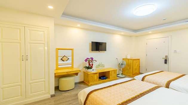 Các loại phòng tại khách sạn The Grace