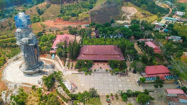 Chùa Linh Ẩn điểm đên hấp dẫn tour ngoại thành Đà Lạt