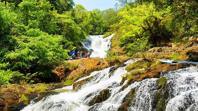 Đặt tour tam thác Đà Lạt