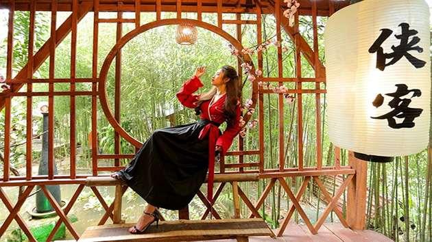 Hiệp Khách Lầu phim trường cổ trang tại Đà Lạt