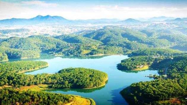 Hồ Tuyền Lâm địa điểm tham quan cực kỳ hấp dẫn