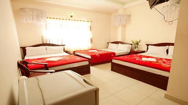 Khách sạn Hải Uyên gần chợ Đà Lạt
