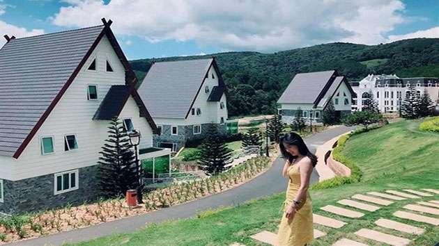 Làng biệt thự cổ ở Đà Lạt