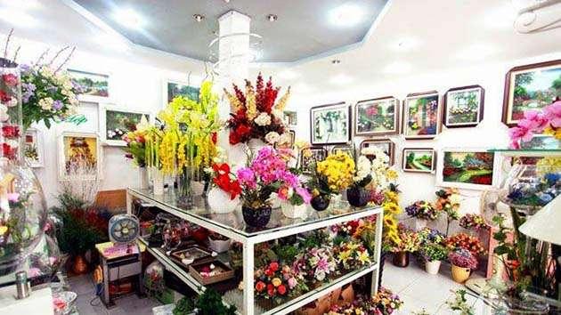 Showroom hoa khô độc đáo tại Đà Lạt