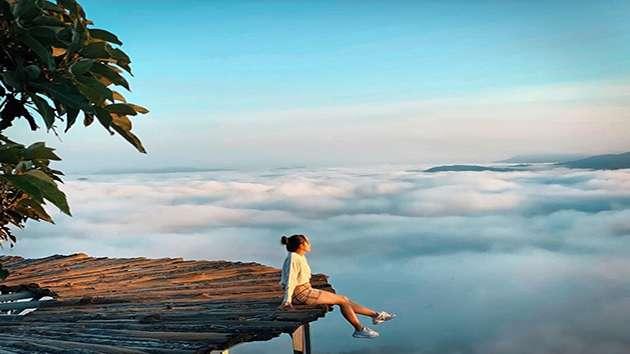 Tour săn mây đón bình minh Đà Lạt