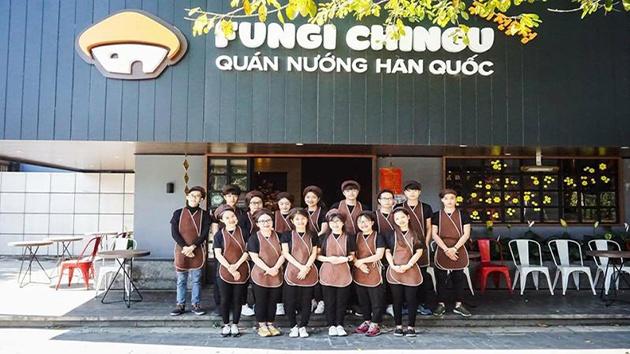 Fungi Chingu ẩm thực phong cách Hàn Quốc tại Đà Lạt