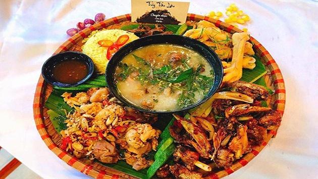 Các món ngon đặc trưng tại quán nướng - lẩu Túy Tửu Lầu Đà Lạt