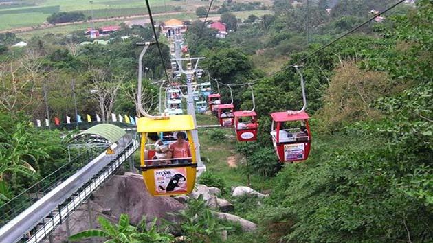 Cáp treo Đà Lạt đại điểm thu hút du khách