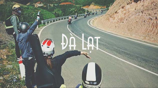 Travel Da Lat by motorbike