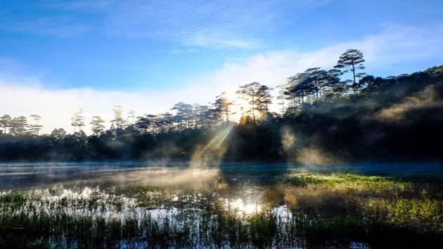 Giá vé tham quan hồ Tuyền Lâm Đà Lạt