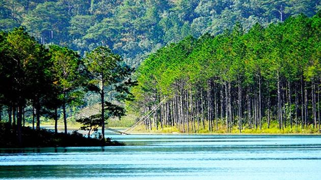 Lịch sử hình thành hồ Tuyền Lâm