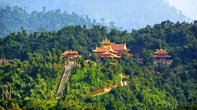 Một số hình ảnh đẹp tại Thiền viện Trúc Lâm