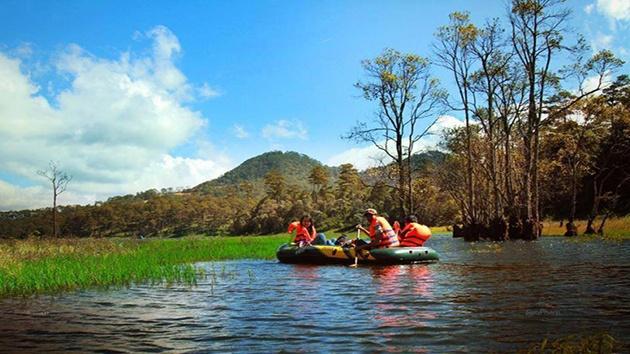 Những địa điểm đẹp tại hồ Tuyền Lâm