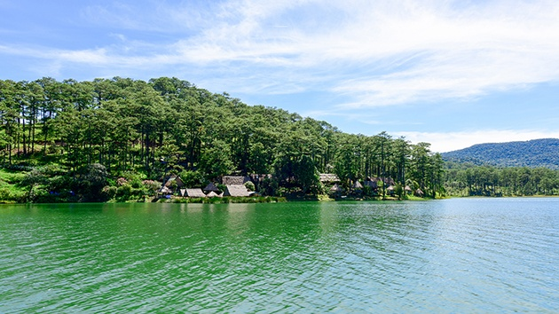 Beautiful lakes in Da Lat