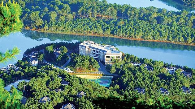 Resort khu nghỉ dưỡng tại hồ Tuyền Lâm Đà Lạt