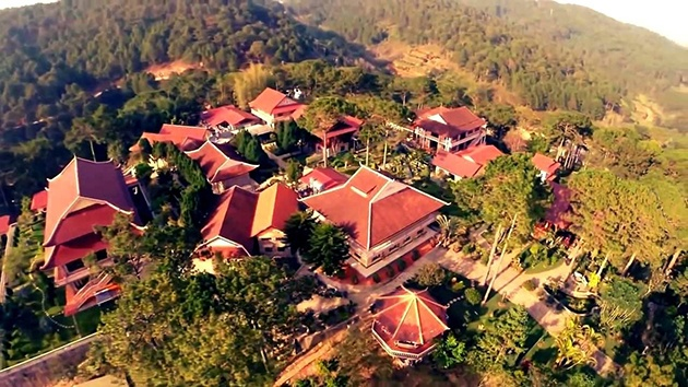 Thiền viện Trúc Lâm công trình kiến trúc tầm cở