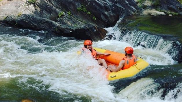 Chèo thuyệt Kayak tại thác Datanla