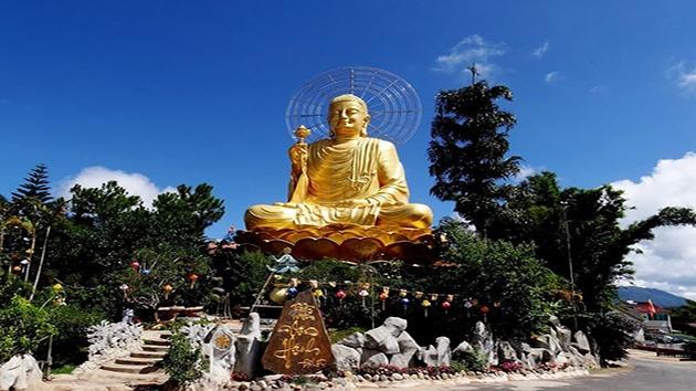 Hình ảnh đẹp tại Thiền viện Vạn Hạnh
