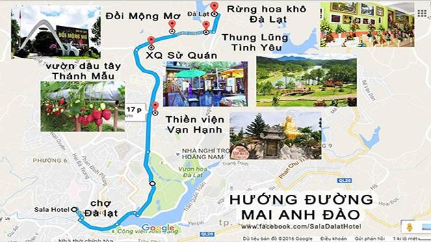 Hướng dẫn đường đến Thiền viện Vạn Hạnh