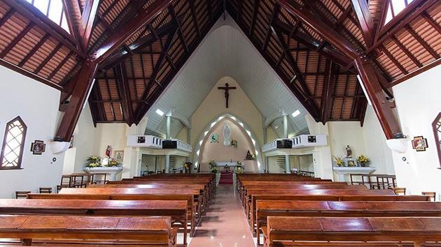 Hình ảnh đẹp tại Nhà thờ Domaine de Marie