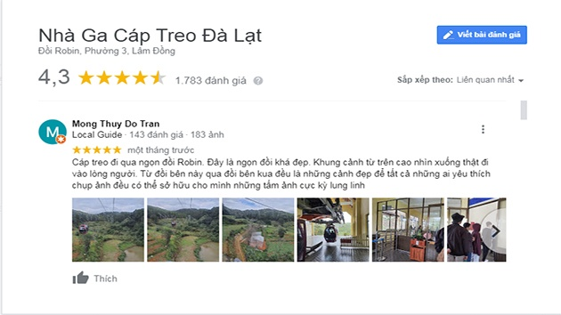 Review Cáp treo Đà Lạt