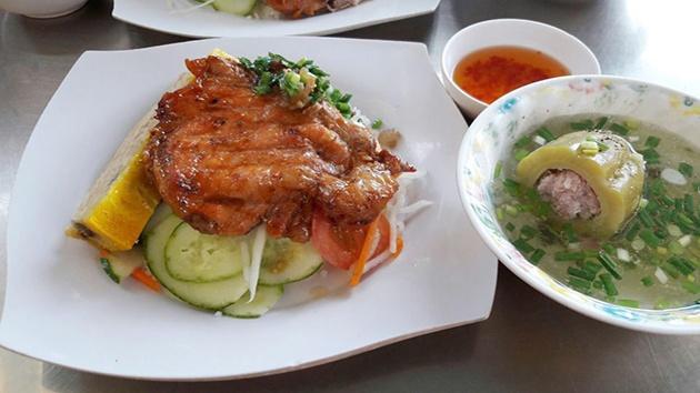 Cơm tấm cô Thu - Quán cơm tấm đông khách nhất tại Đà Lạt