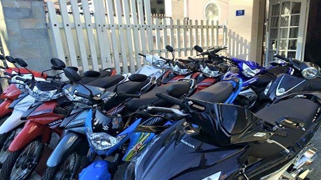 Cửa hàng cho thuê xe máy chị Hà Đà Lạ