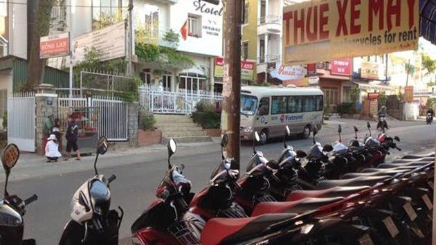 Cửa hàng cho thuê xe máy Đức Toàn