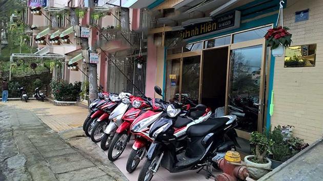 Kinh nghiệm thuê xe máy tại Đà Lạt
