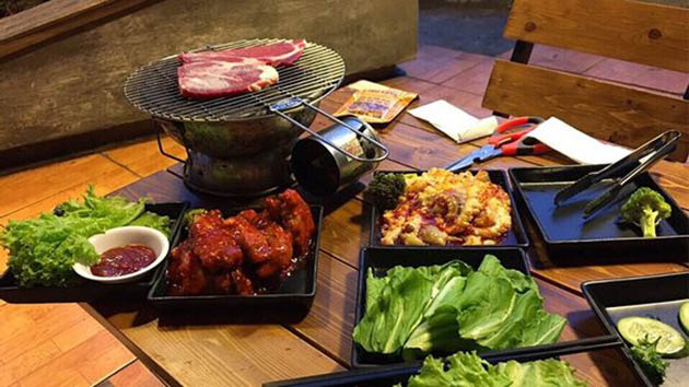 Ngói BBQ- Quán nướng ngon tại Đà Lạt