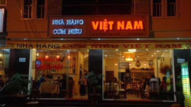 Nhà hàng cơm niêu Việt Nam