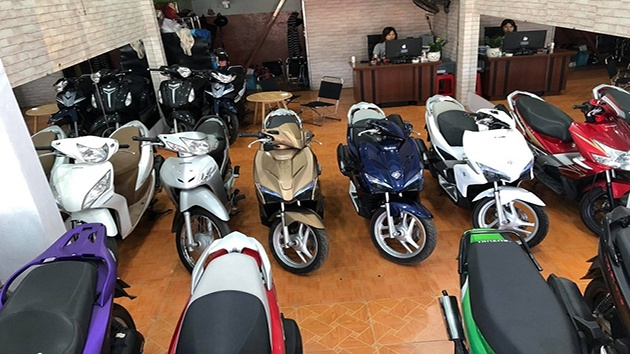 Thủ tục khi muốn thuê xe máy ở Đà Lạt