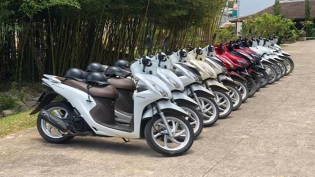 Thuê xe máy Minh Khang