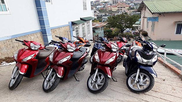 Thuê xe máy ở Đà Lạt