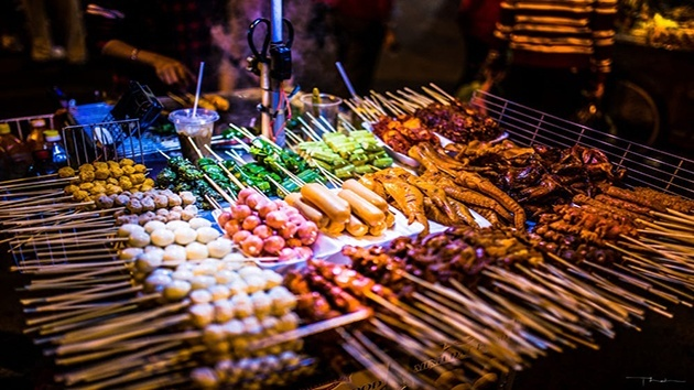 Các món ăn vặt khác tại chợ đêm Đà Lạt