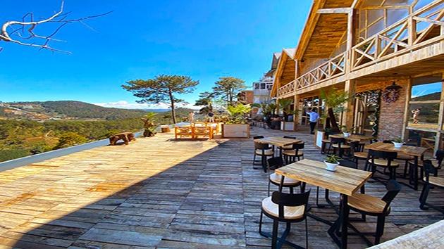 Đà Lạt Mountain View cafe