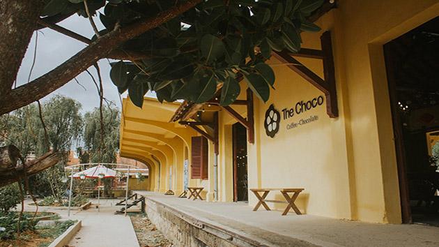 Không gian thơ mộng tại quán cafe The Choco Đà Lạt