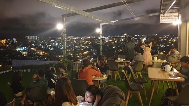 Không gian lãng mạn tại Dalat Golf Cafe