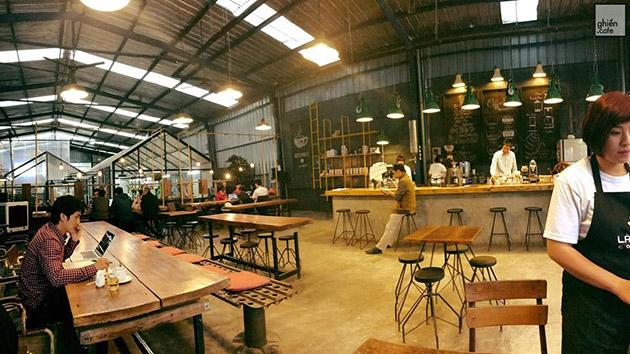 Là Việt - Công xưởng sản xuất cafe ở Đà Lạt