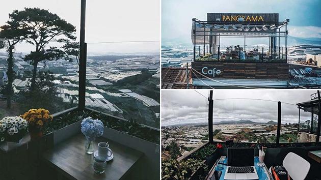 Ngắm cảnh tuyệt đẹp tại Panorama cafe