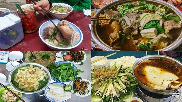 Những món ăn chính vào buổi tối ở Đà Lạt