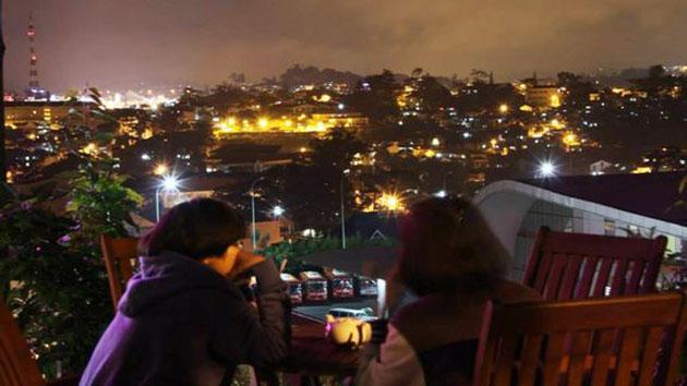 Quán cafe Dalat Nights