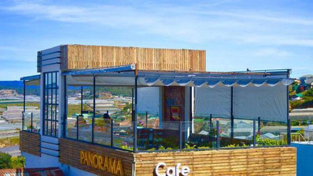 Quán cafe Panorama Đà Lạt