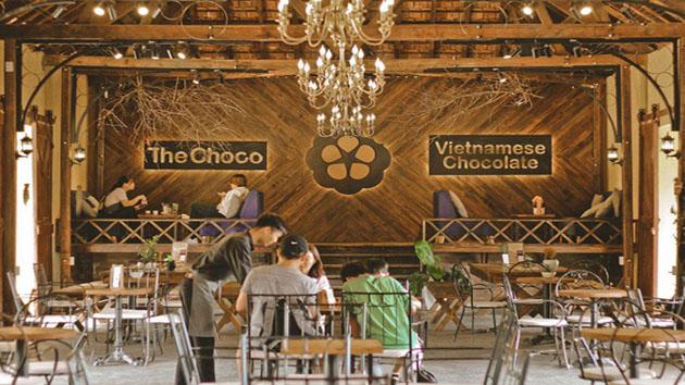 Quán cafe The Choco Đà Lạt