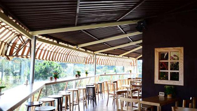 Quán cafe Tỏi Đen ở Đà Lạt