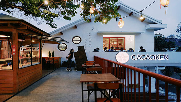 Quán coffee Cacaoken Đà Lạt