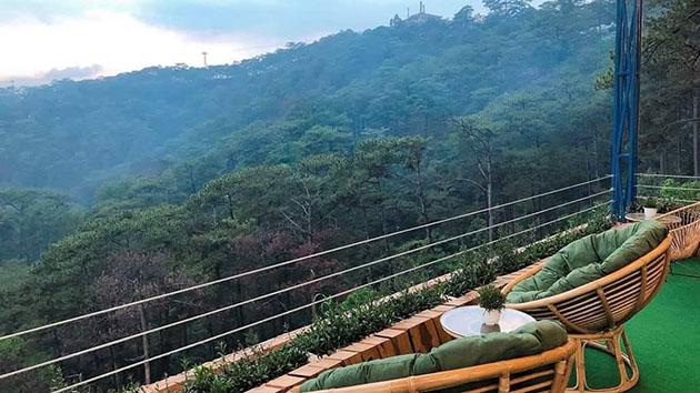 Quán coffee Horizon Đà Lạt