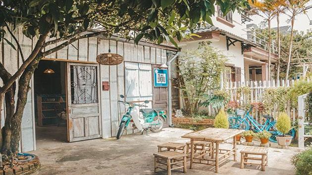 Tiệm cafe Đậu Đà Lạt