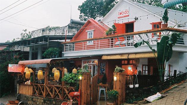 Tiệm cafe Táo Đỏ Đà Lạt